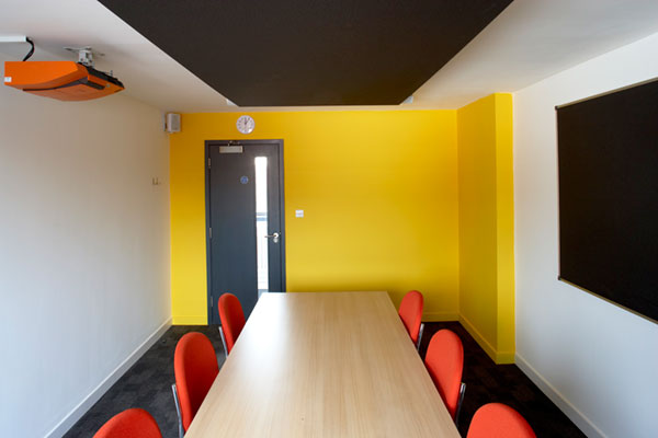 architects east london hackney conference room
