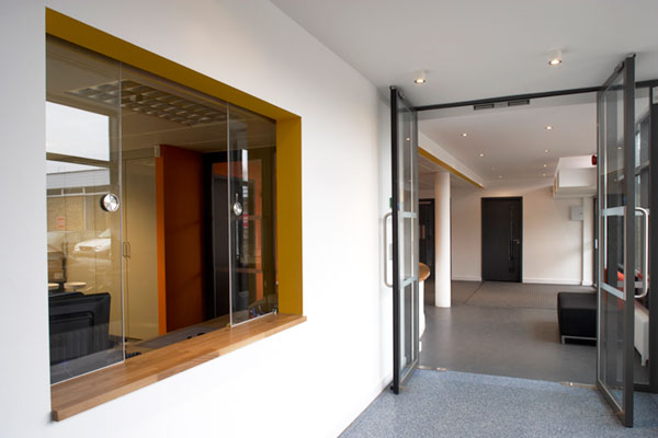 architects east london hackney school office