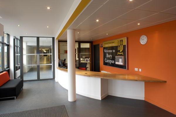 hardcastle architects school education reception