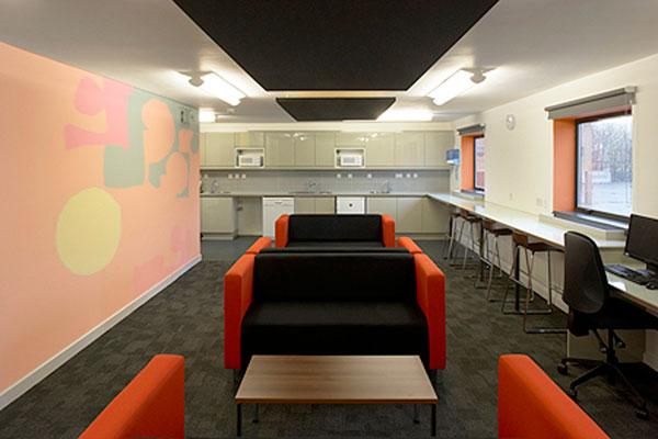 hardcastle architects school refurbishment staffroom