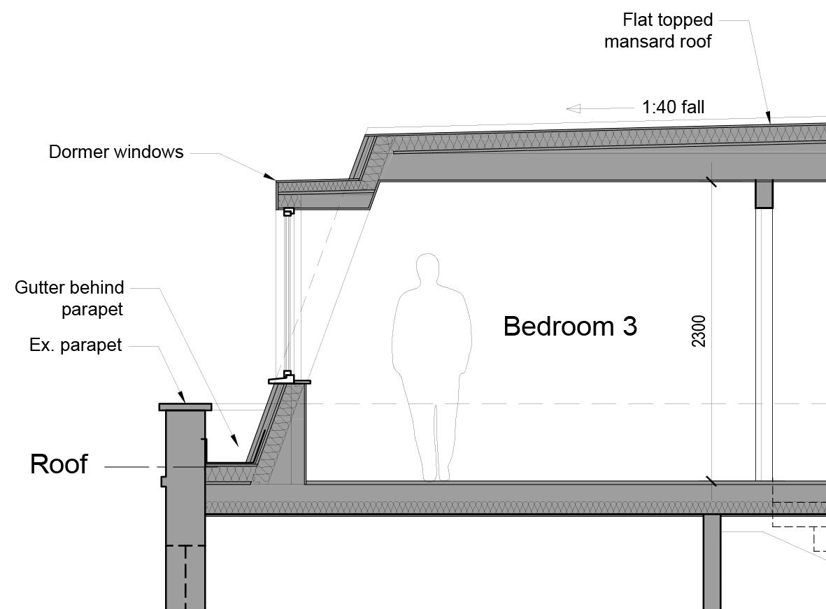 Planning Approval Mansard Roof Extension Hardcastle