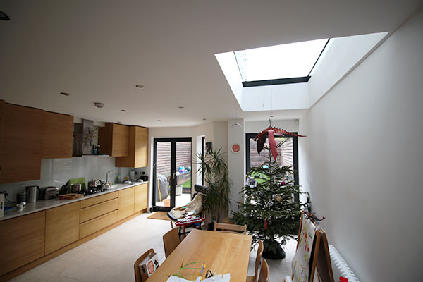 Kitchen rear extension hackney