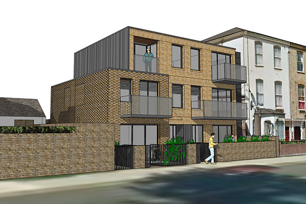 residential architect hackney new build housing
