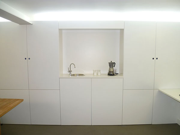 Hardcastle Architects Hackney kitchenette