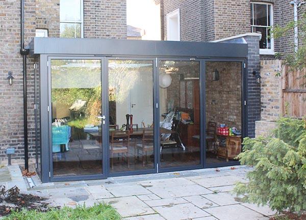 Rear extension rooflight daylight
