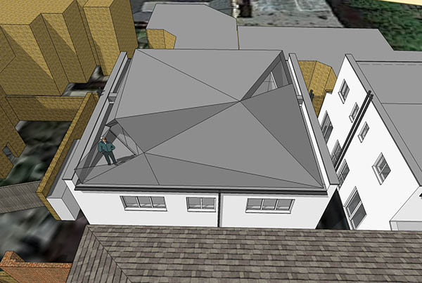 section 3d modelling architects