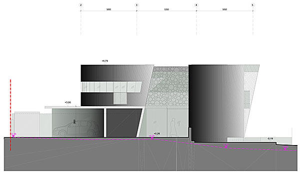 elevation cad drawing planning application