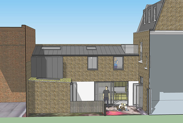 Residential architects extensions hackney E5