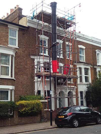 Mansard roof extension hackney