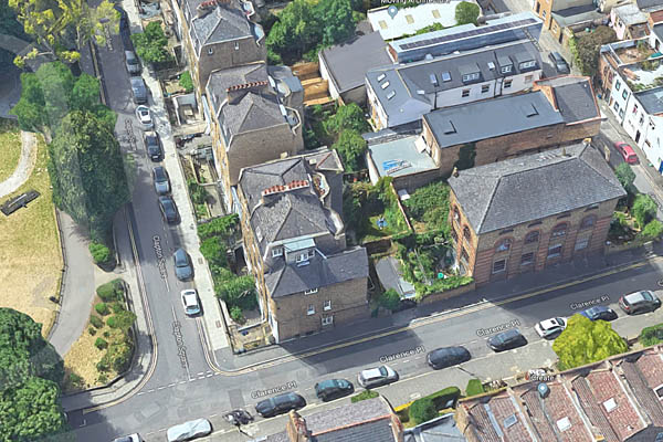 listed building east london architect