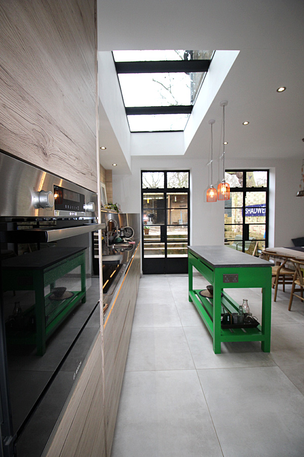 Kitchen extension Hackney East London
