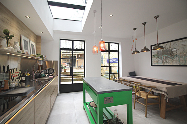 extensions hardcastle architects hackney