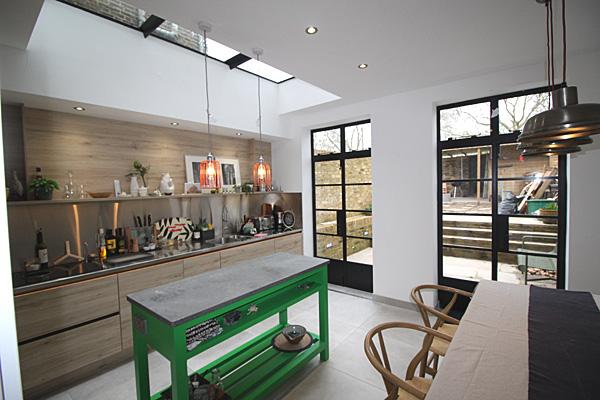 kitchen extension architects E8 E5